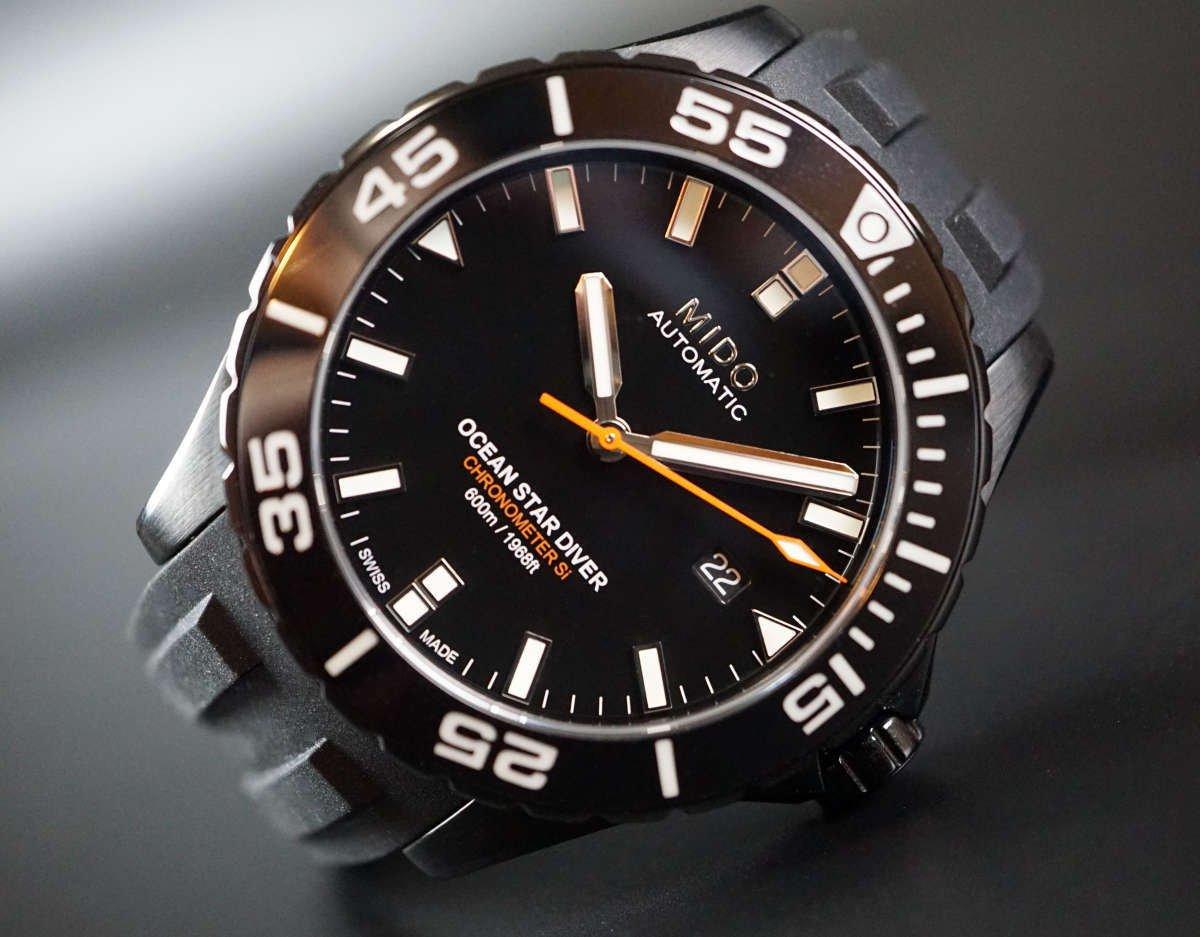 【開箱】一圖看懂MIDO專業潛水表 – 海洋之星Ocean Star系列 精密機械潛水錶