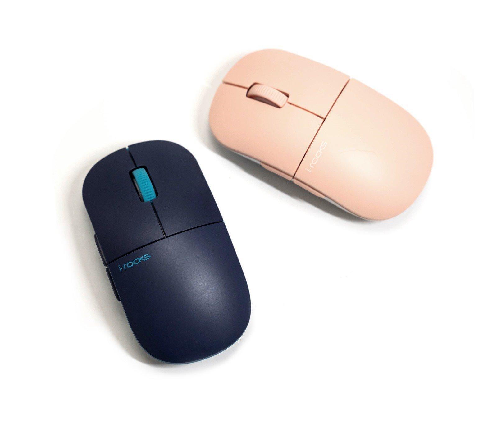 【開箱】i-rocks M23R靜音無線滑鼠 – 30 分貝的靜音、自由切換 Dpi