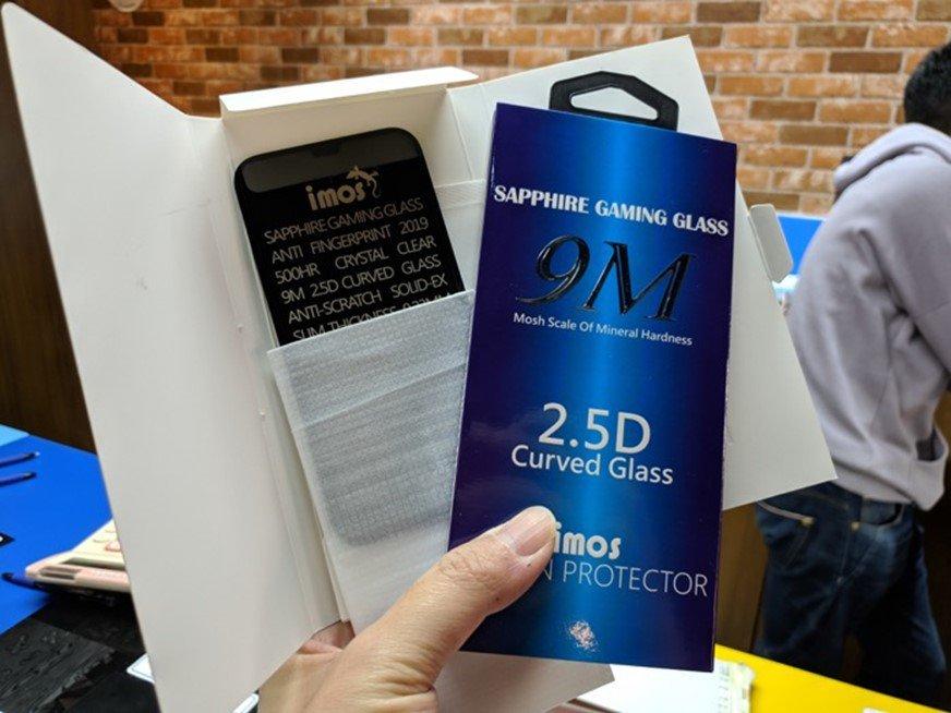 【開箱】iPhone專用imos 藍寶石玻璃保護貼,提供裸機般的靈敏觸控、具高透光性