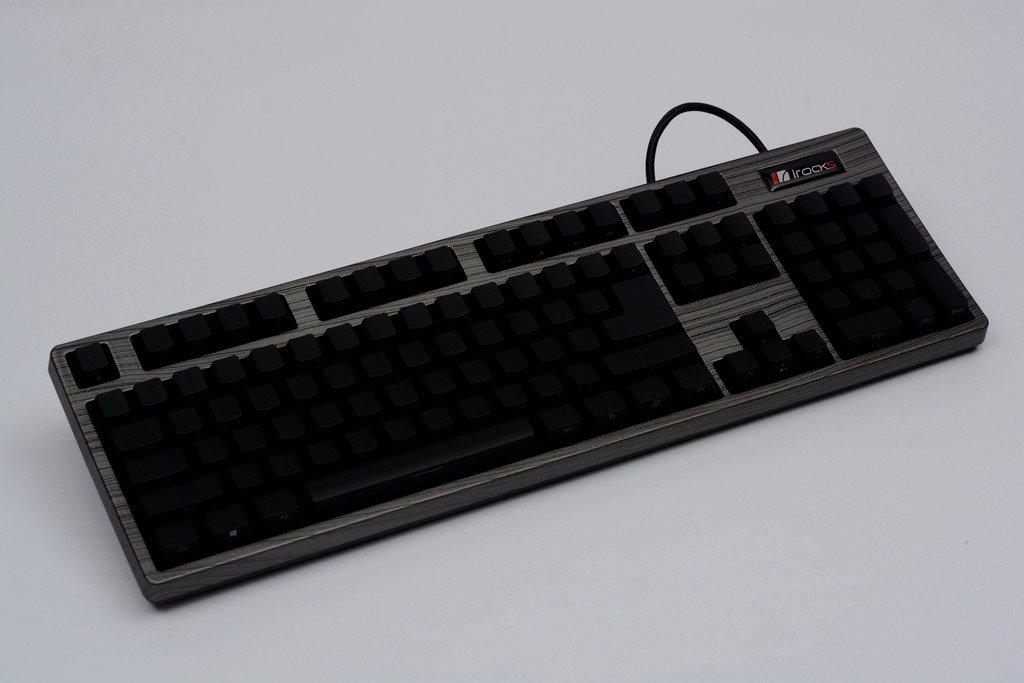 【開箱】i-rocks K68M Prime Edition:支援USB插槽,黑金、灰木、棕木三色與櫻桃軸