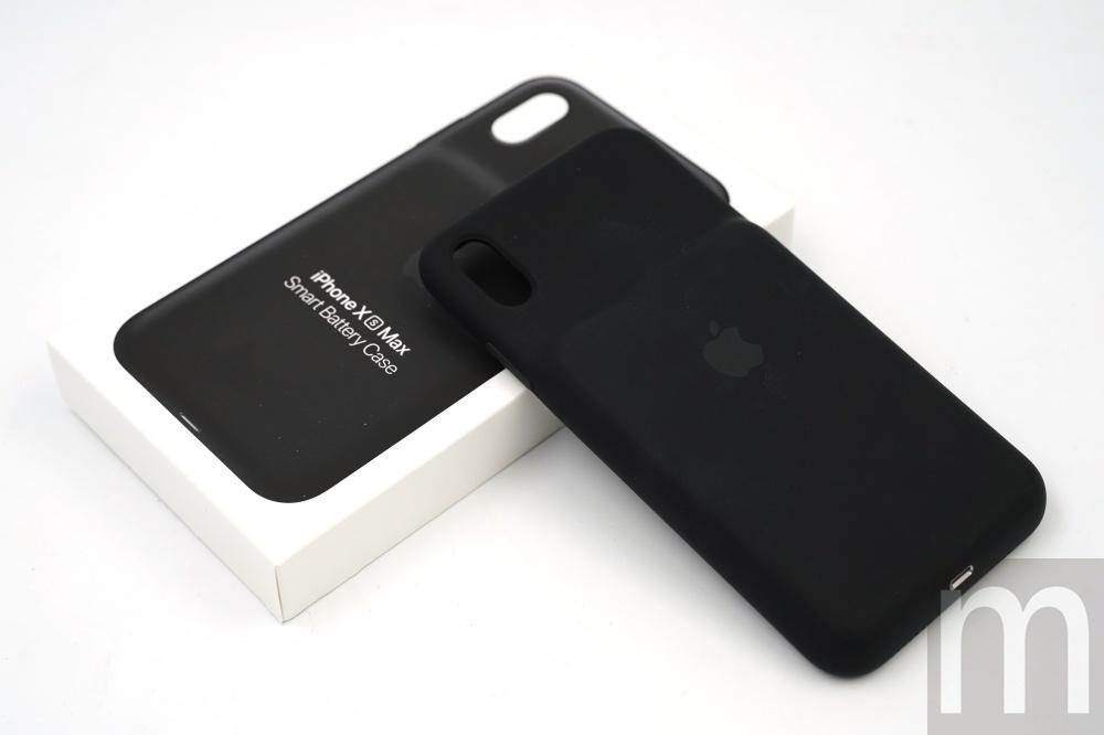 【開箱】蘋果原廠iPhone XS Max聰穎電池護殼,支援Qi無線充電