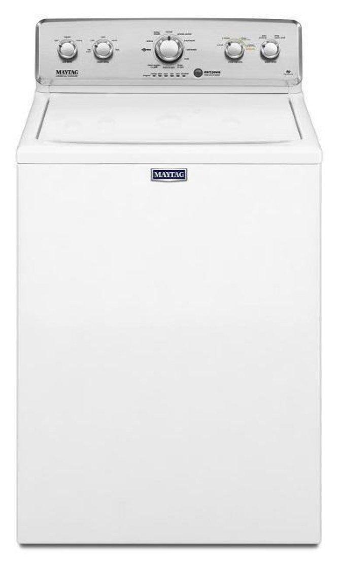 【開箱】簡約時尚美泰克MVWC565FW直立洗衣機,冷熱水分管、多段變速洗淨馬達