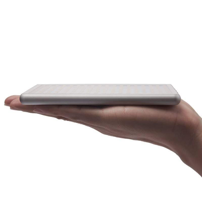 【開箱】超小巧攝影補光神器!和手機一樣大的 sidande STD-X180LED 攝影燈