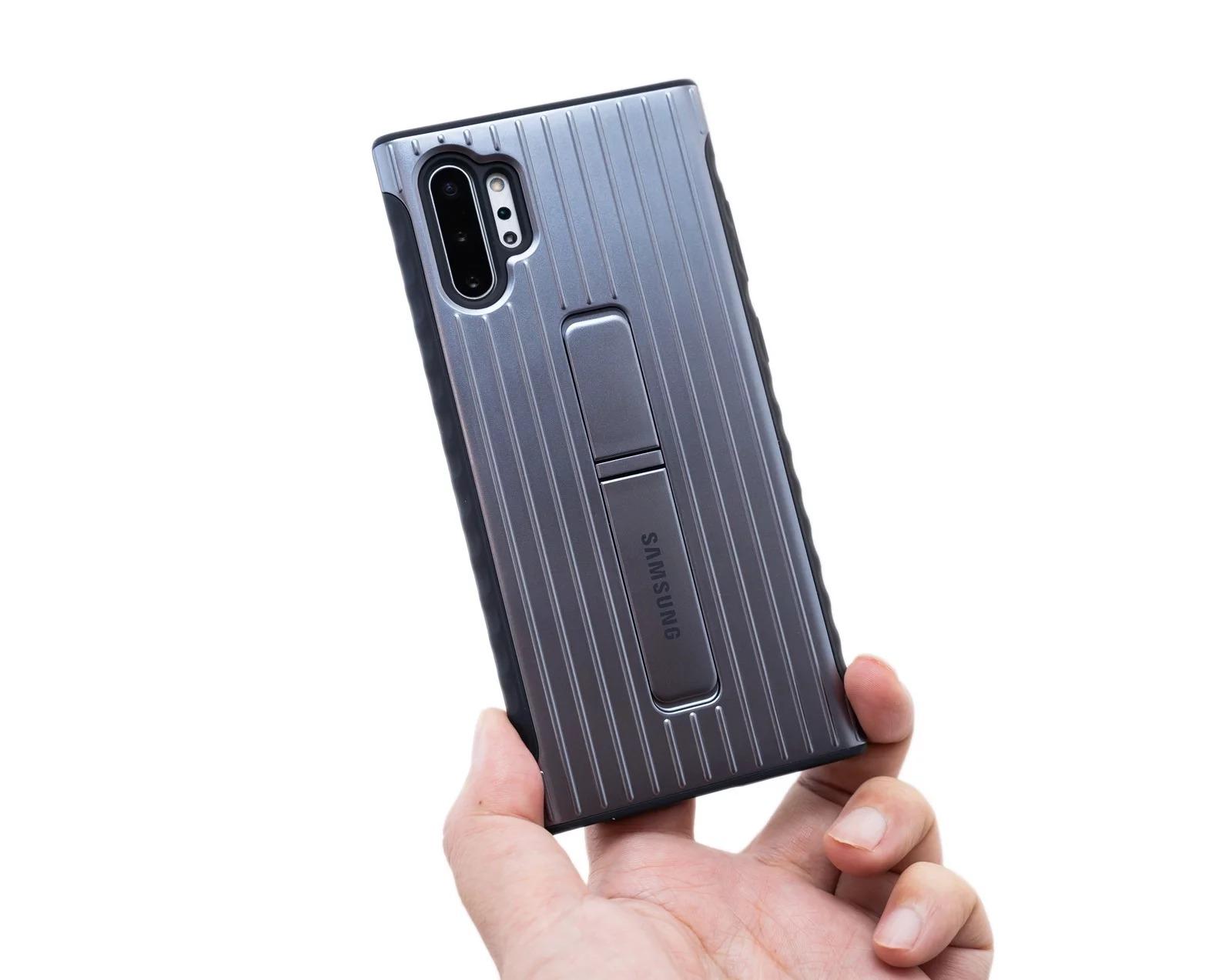 【開箱】Samsung三星GALAXY Note10原廠立架式保護皮套