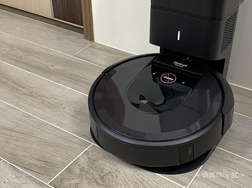 【開箱】iRobot Roomba i7+ 特有自動倒垃圾,不髒手的至尊掃地機器人