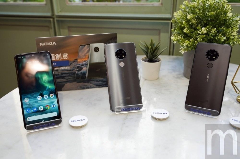 搭載前後蔡司光學認證四鏡頭,Nokia 7.2 智慧型手機!