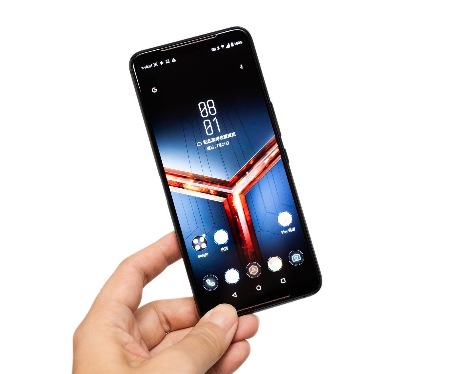【開箱】最強遊戲手機就是 ROG Phone II,120Hz 螢幕滿滿電競元素!