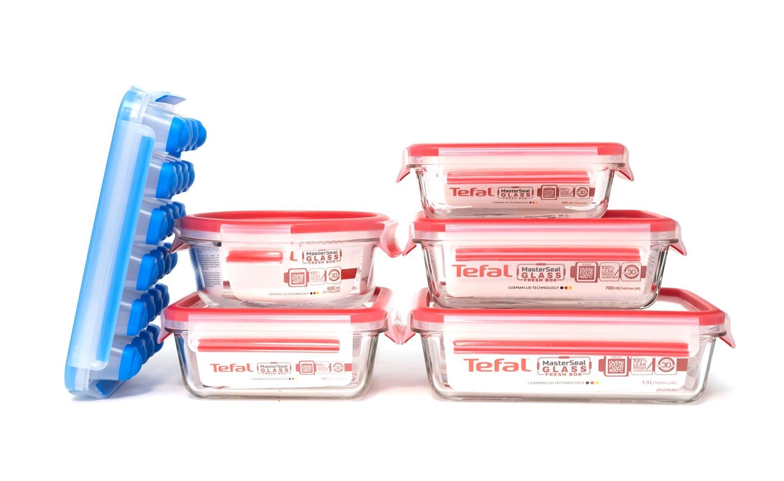 【開箱】法國Tefal 無縫膠圈保鮮盒,輕鬆清潔,無縫保鮮200%!