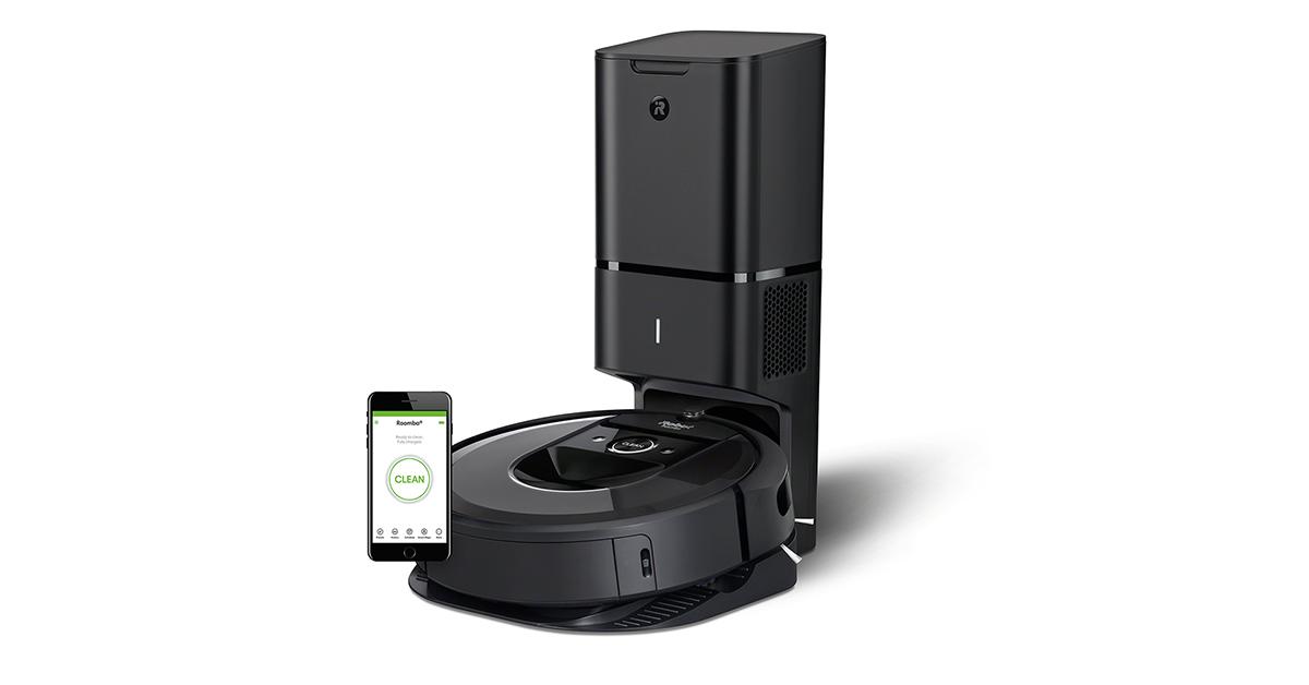 iRobot Roomba i7+ 掃地機器人,自己的垃圾自己倒!