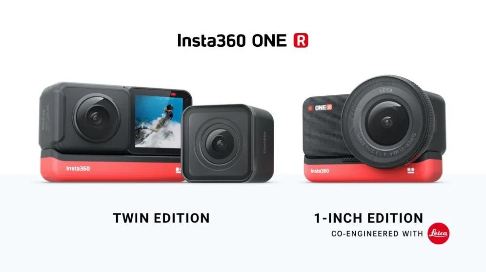 Insta360攜手徠卡,打造旗下首款模組化相機ONE R