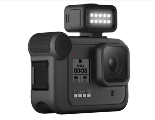 防水+打亮,GoPro HERO 8推出Light Mod配件,再暗都不怕!