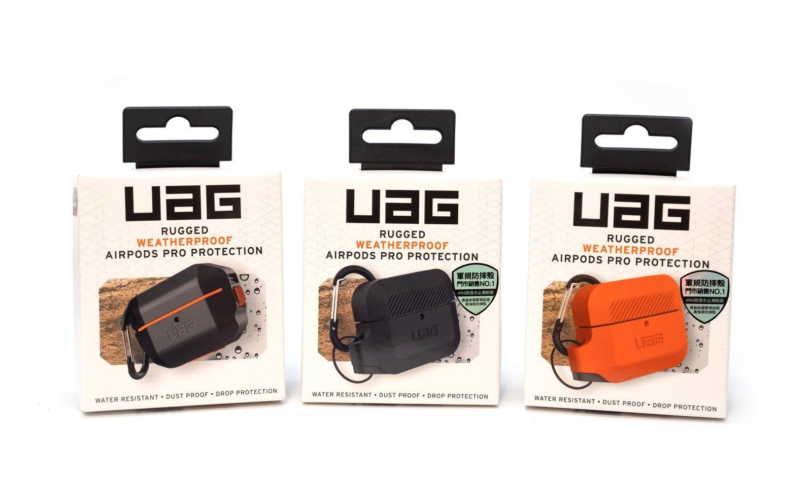 【開箱】耳機也有軍裝保護!UAG AirPods Pro軍規防水保護殼
