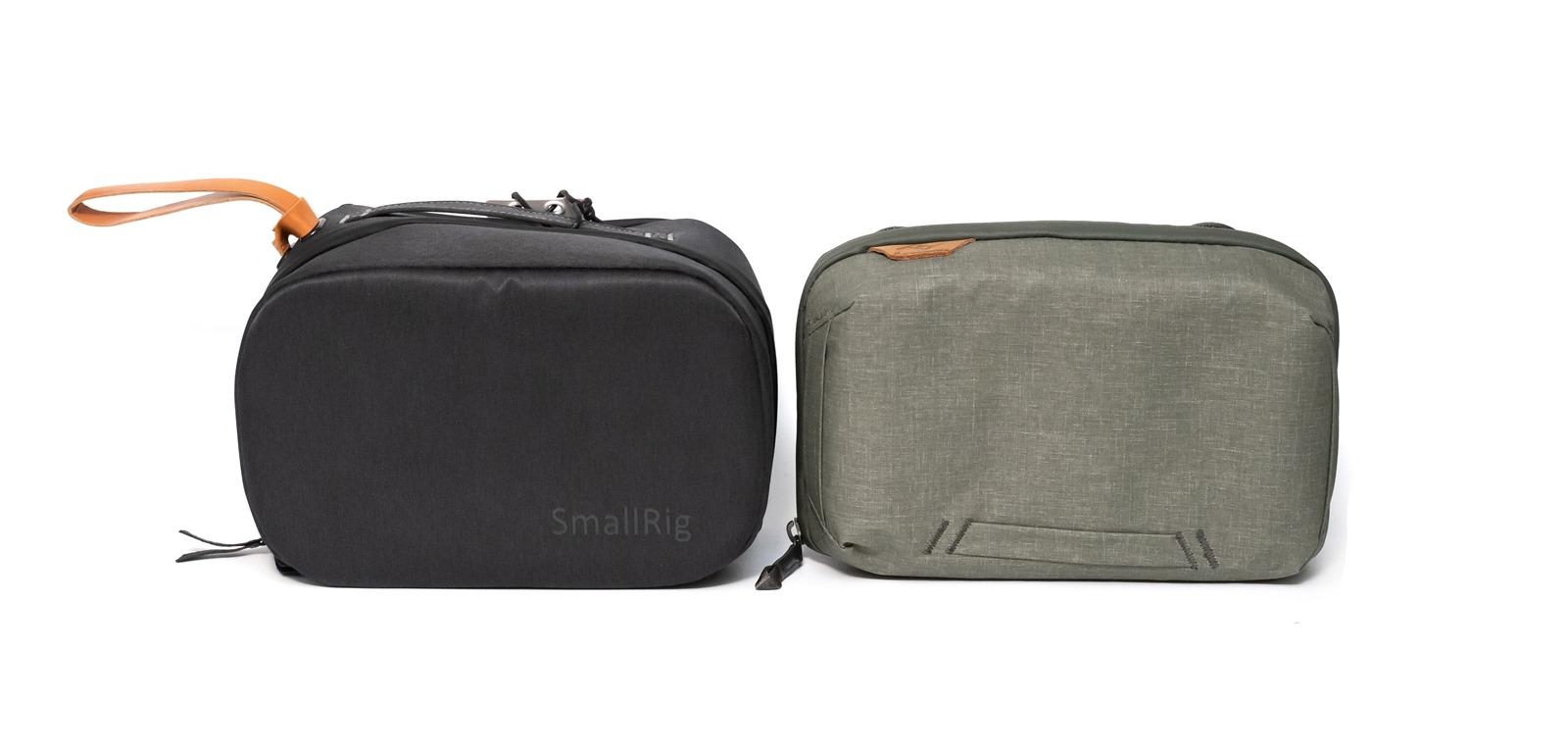 【開箱】PEAK DESIGN旅行者21夾層隨行包XSmallRig配件收納包PPP2392比較分享