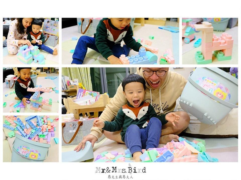 【開箱】怎麼挑選適合孩子的玩具?!寶寶就能玩的安全玩具—MOOMU馬卡龍香草軟積木