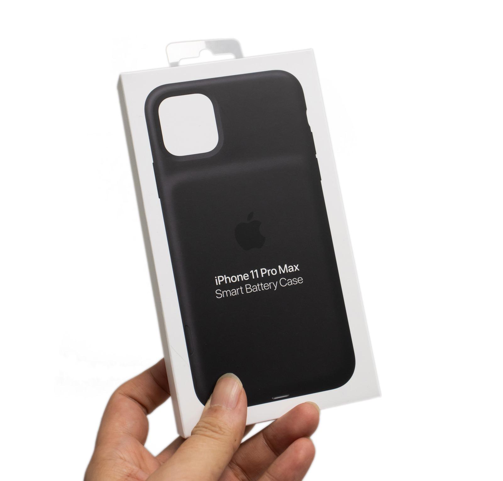 【開箱】蘋果原廠真的厲害!iPhone 11 Pro Max聰穎電池護殼入手分享+電力實測