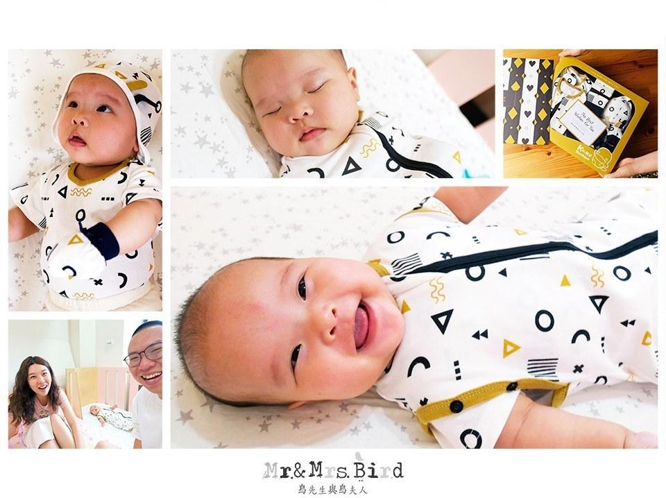 【開箱】寶寶要怎麼睡過夜呢?!分享訓練好方法XKUKU酷咕鴨超好眠成長包巾