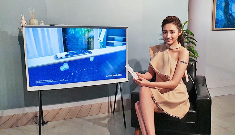 Samsung全新設計生活系列電視上市!