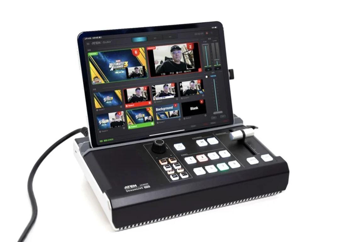 【開箱】ATEN StreamLIVE直播機UC9020,專業直播單機搞定!