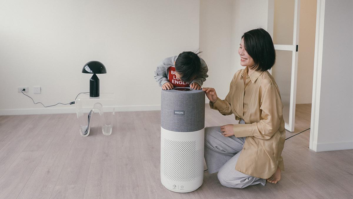 【開箱】飛利浦奈米級空氣清淨機,家裡有顏值又有用的好夥伴!
