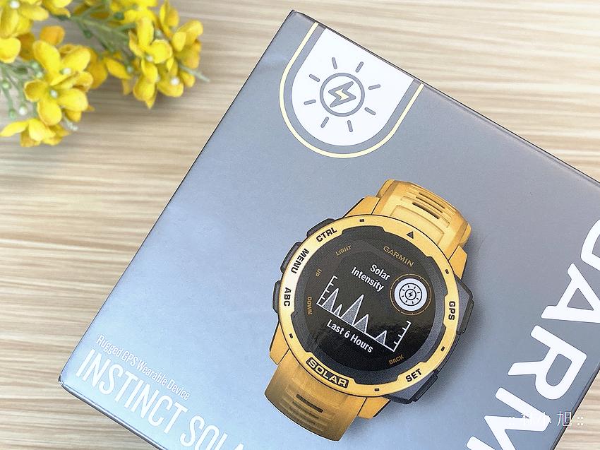 【開箱】讓你在戶外擁有最長「無限」電力續航夢想!本我系列Garmin Instinct Solar太陽能GPS智慧腕錶開箱
