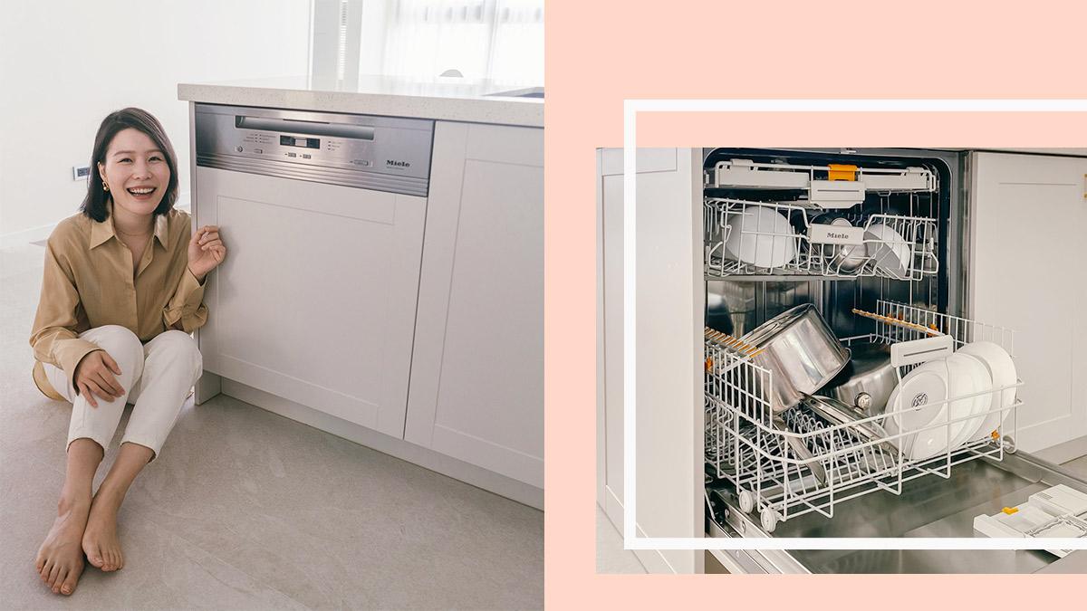 【開箱】家庭必備!讓人生更簡單的洗碗機—Miele洗碗機G6620