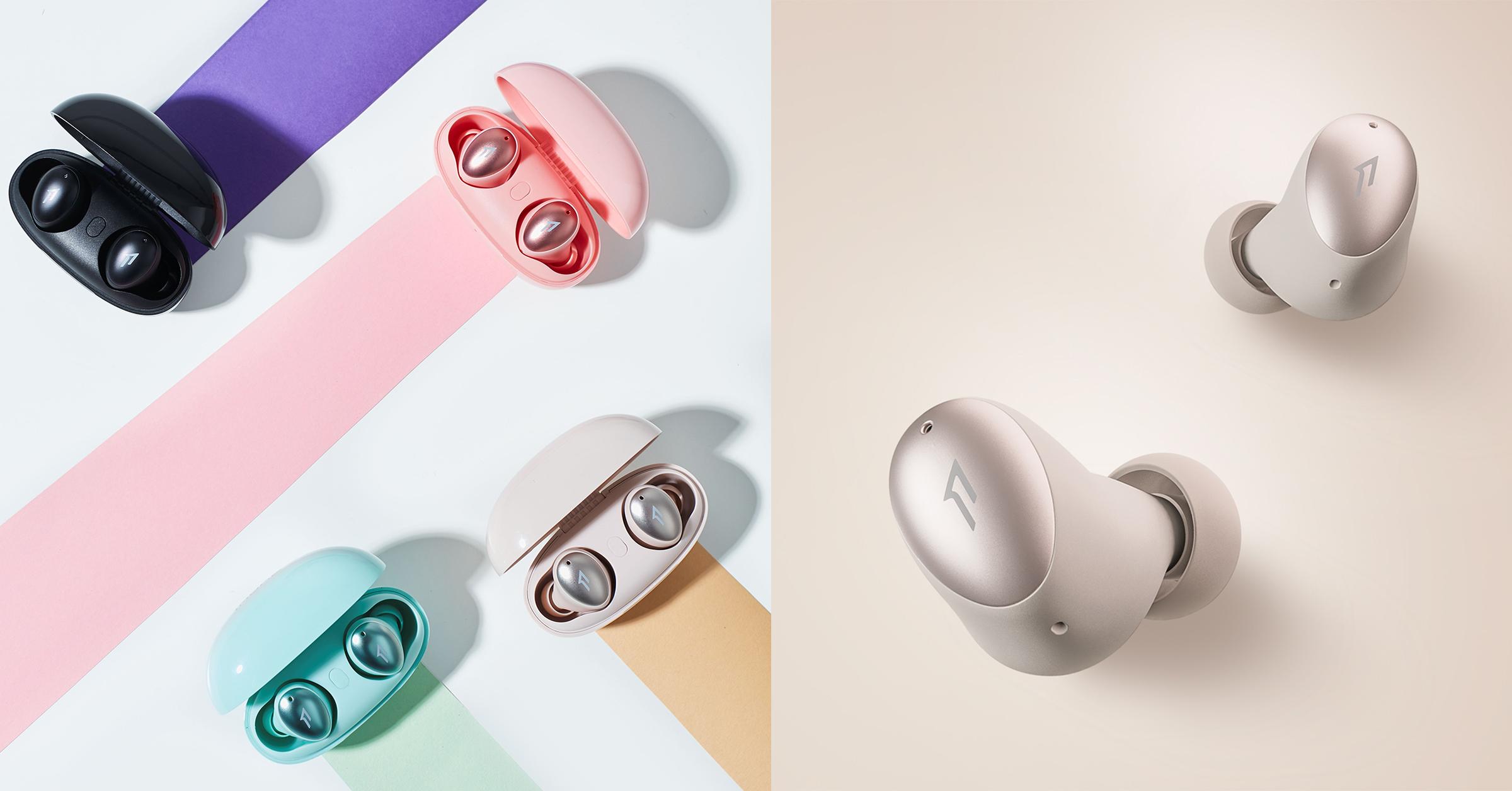 1MORE ColorBuds時尚豆真無線耳機,比一張A4還輕巧、續航力可達22小時!