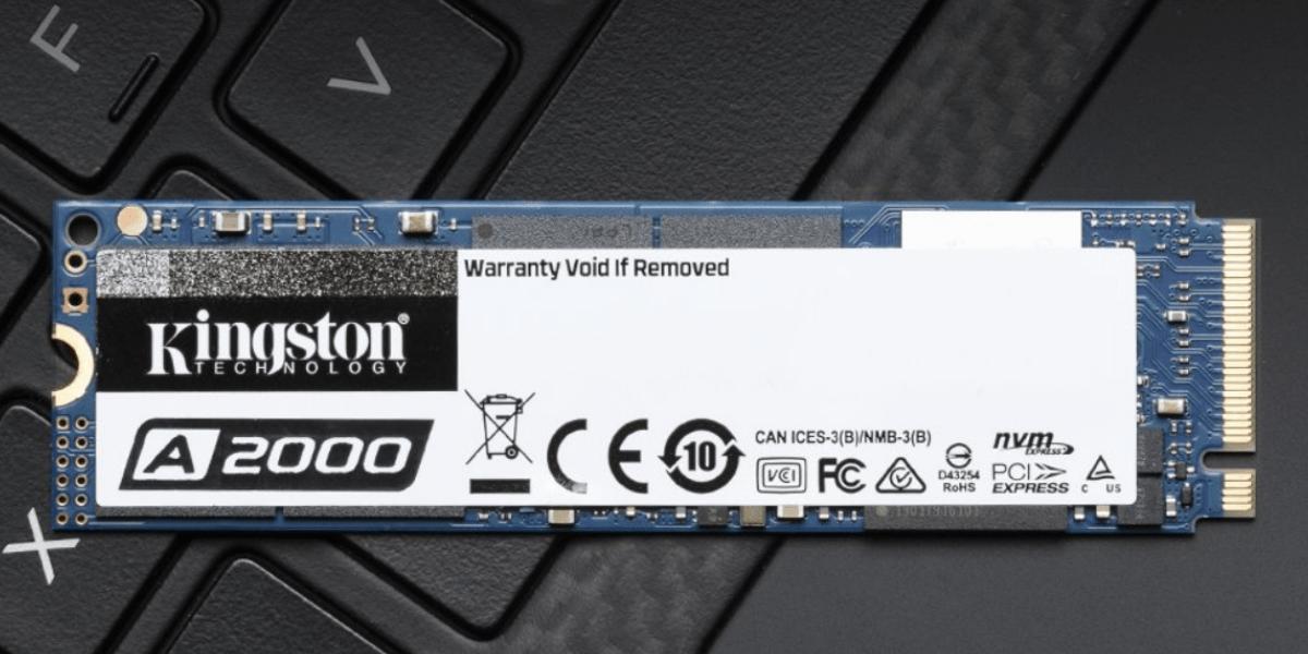 【開箱】金士頓A2000 250G M.2 PCIe固態硬碟評價