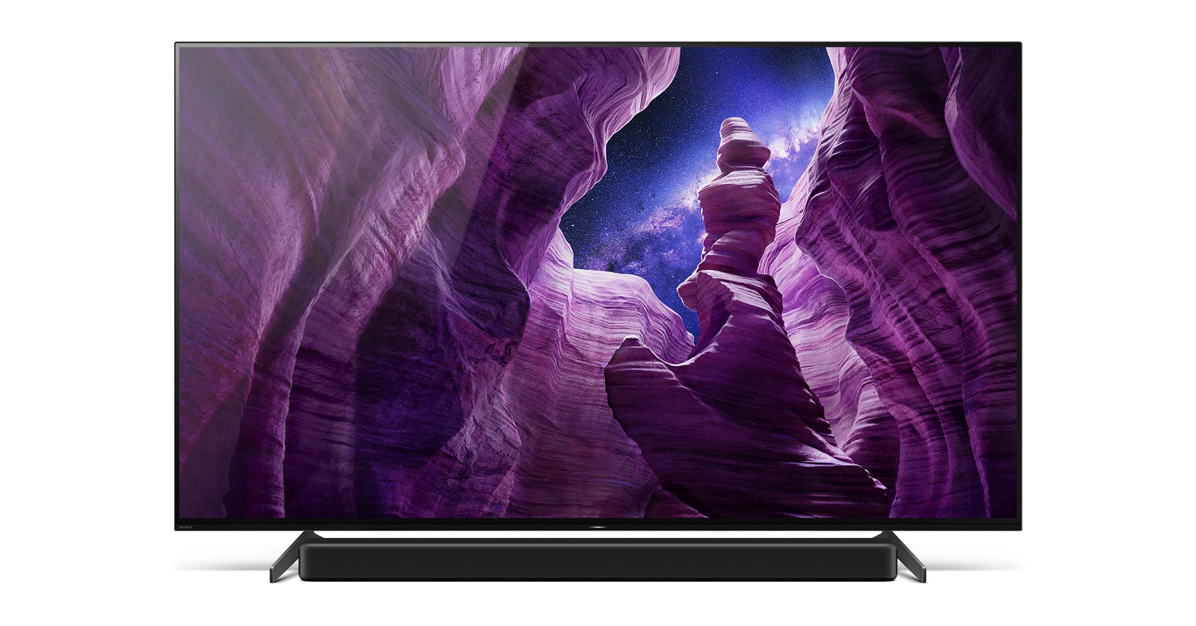 55/65吋雙規格!Sony BRAVIA 4K HDR OLED電視A8H系列在台灣登場