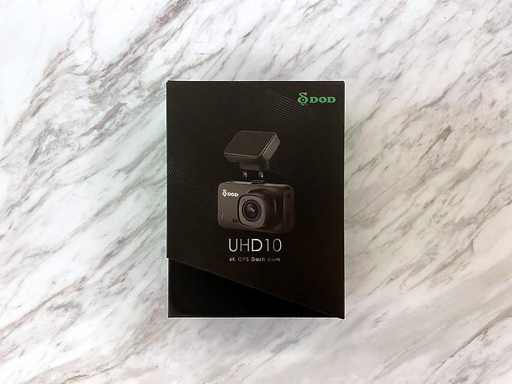 【開箱】DOD UHD10 4K行車記錄器,關鍵證據,日夜都掌握!