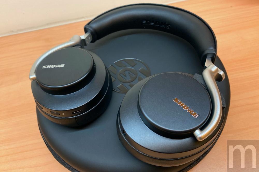 【開箱】SHURE主動降噪藍牙耳機Aonic 50,對應長時間配戴使用需求