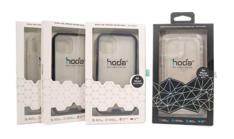 【開箱】幫iPhone 12尋找保護週邊?hoda晶石玻璃防摔殼/柔石防摔殼,好看好防護!