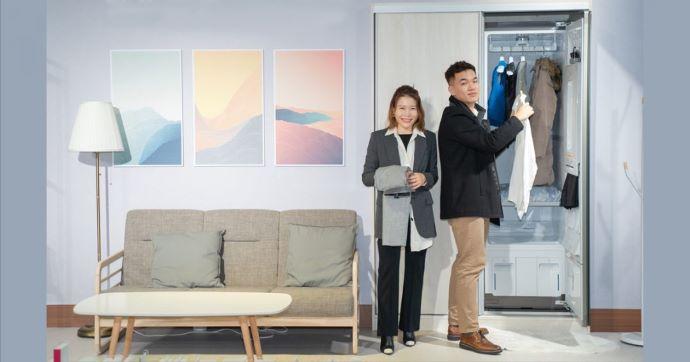 LG Styler蒸氣電子衣櫥 | 蒸氣殺菌、燙平烘乾,呵護衣服也呵護自己與家人