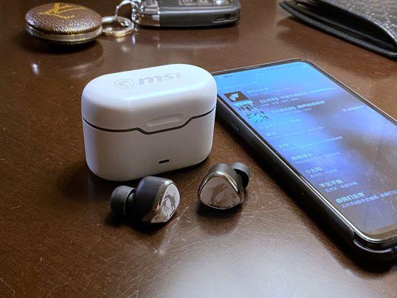 【開箱】MSI微星CH40藍牙耳機「好聽」的真無線耳機,打Game追劇都優秀!