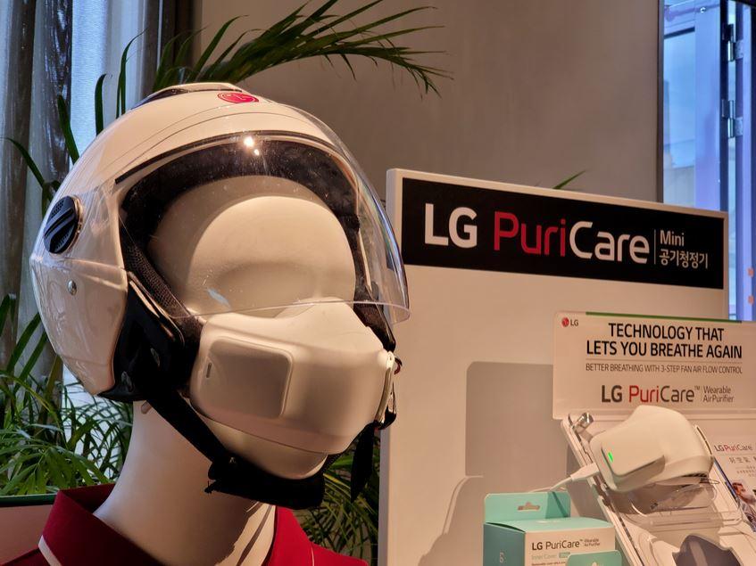 【開箱】LG PuriCare™口罩型空氣清淨機,打造個人專屬優良空氣品質,好空氣輕鬆戴著走!