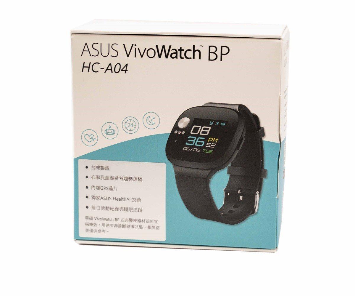 【開箱】華碩推出超強續航的VivoWatch BP智慧手錶,壓力、心跳與血壓健康指數參考好幫手