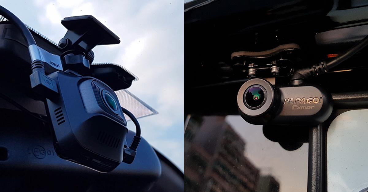 【開箱】夜視雙錄畫質超清晰,GoSafe S780雙鏡頭行車記錄器實測
