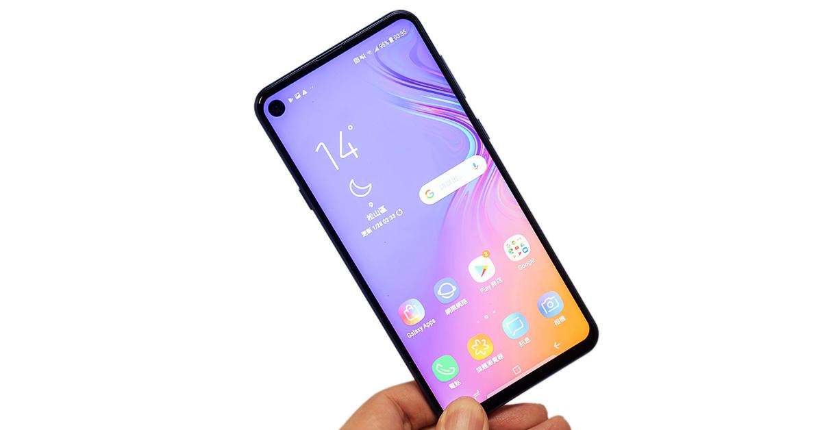 【開箱】三星Galaxy A8s – O極限螢幕初體驗,全螢幕顯示、效能、相機動手測