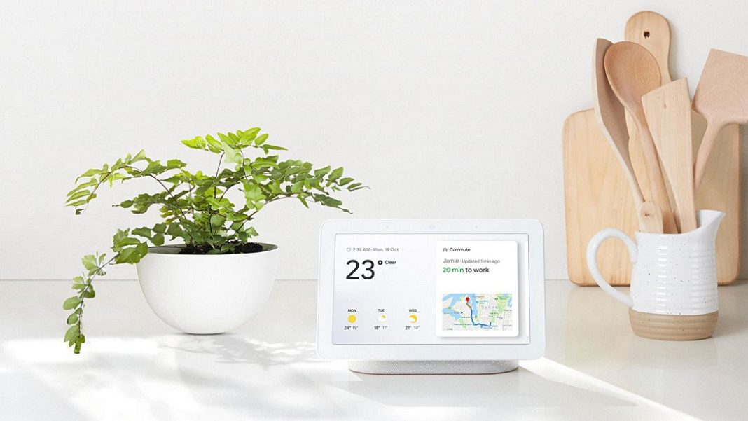 Google Home Hub智能家居助理,集合觸、聲兩控,呈現科技美學