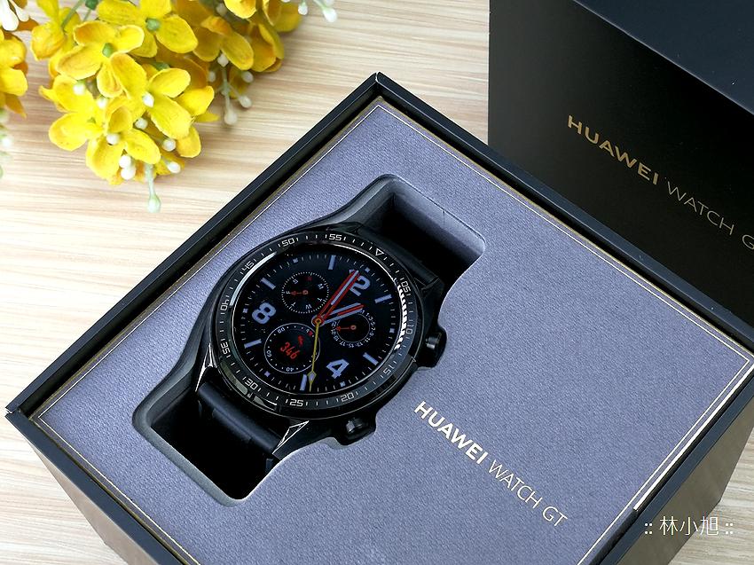 【開箱】HUAWEI WATCH GT 防水智慧手錶,具備大畫面與兩周電力續航
