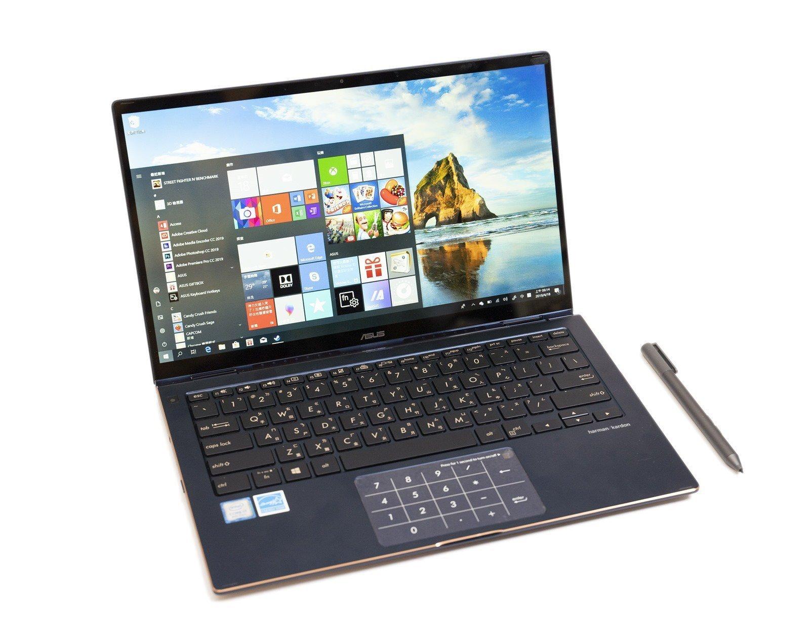【開箱】華碩世界最小翻轉筆電ZenBook Flip 13,超窄邊框 / 數位筆 / 多種翻轉模式
