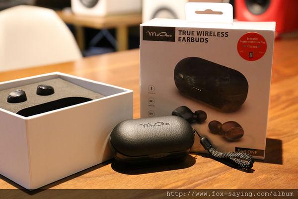 【開箱】採用高通 QCC3026 與藍牙5.0的德國McGee Ear One無線藍牙耳機