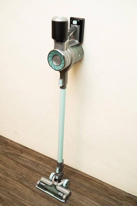 【開箱】小資族高cp值的新選擇, HERAN 禾聯 蒂芬妮藍無刷馬達颶風龍捲無線手持吸塵器