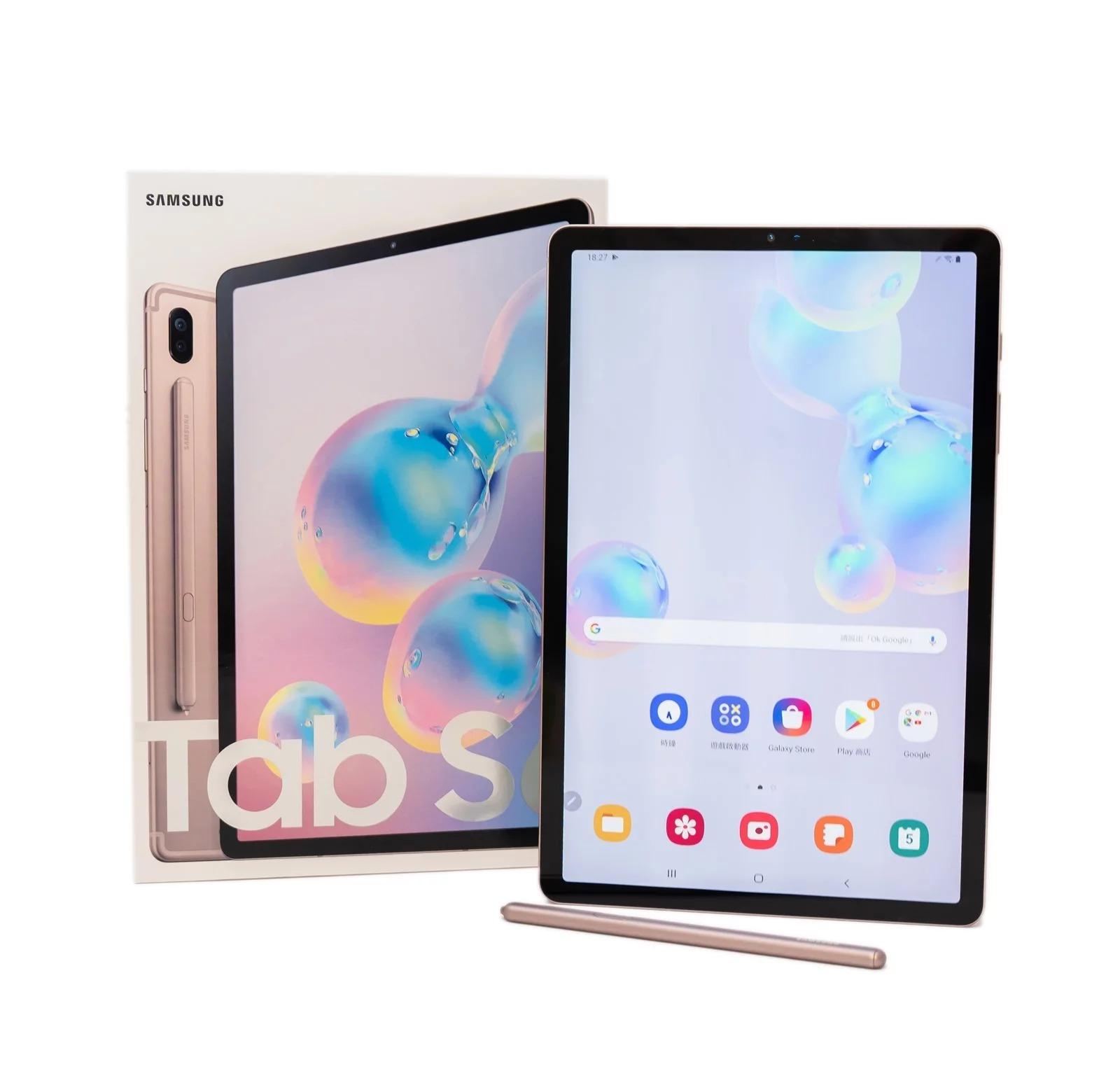 【開箱】智能行動助理Galaxy Tab S6 旗艦平版來了!