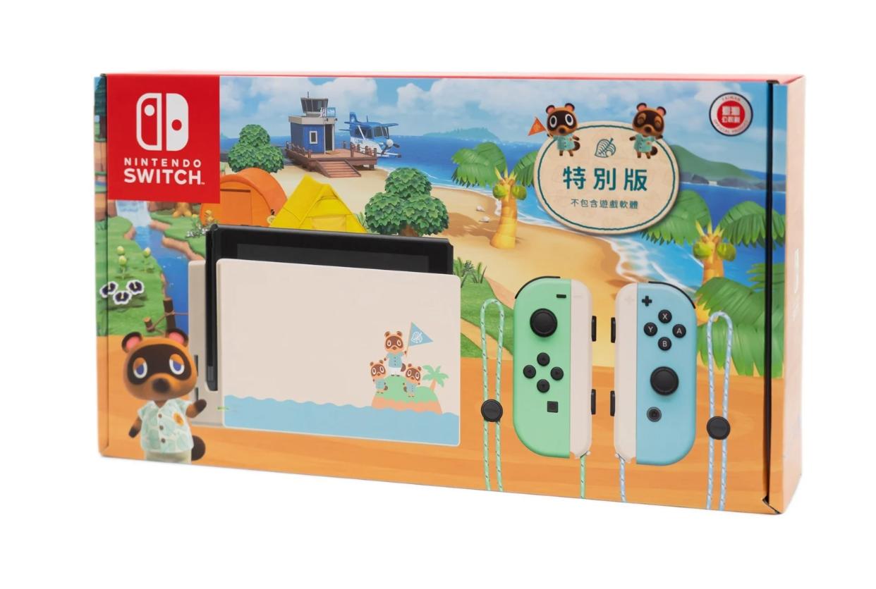 【開箱】開箱啦!「集合啦!動物森友會」Nintendo Switch最可愛主機!