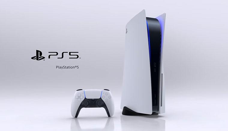 PlayStation 5(PS5)主機造型與全系列配件亮相!