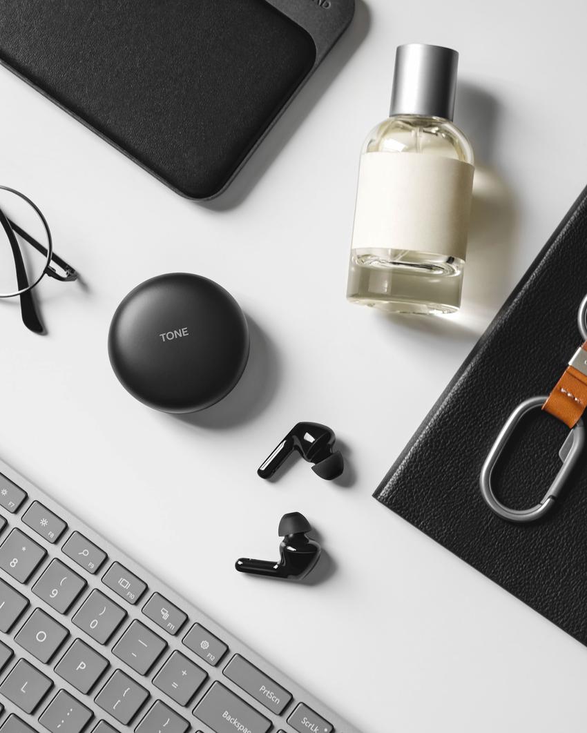 LG TONE Free FN6真無線藍牙耳機,充電盒還有UVnano紫外線殺菌功能!