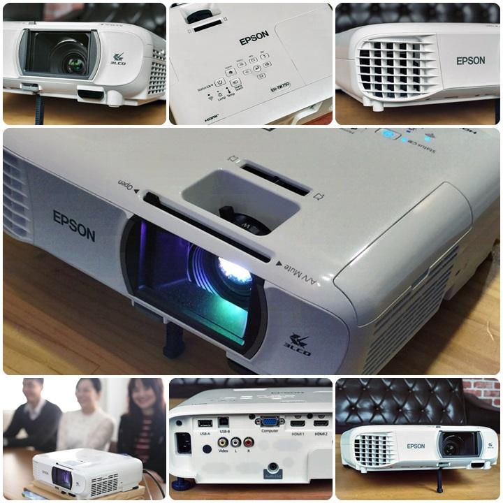 【開箱】工作與家庭影音娛樂的好夥伴—EPSON EH-TW750住商兩用高亮彩投影機