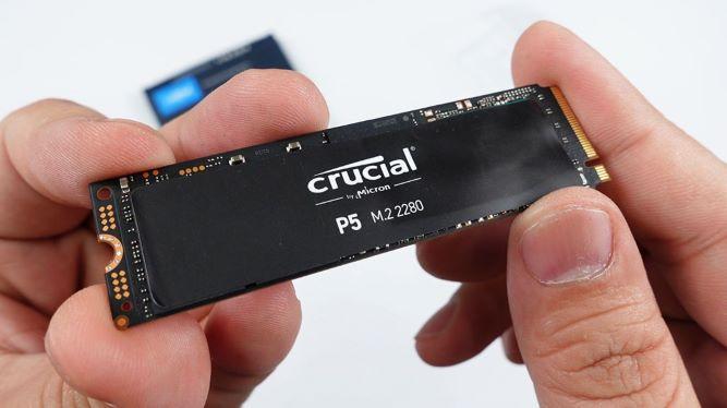 【開箱】美光電競固態硬碟Crucial P5 PCIe NVMe M.2 SSD,讀寫的極速體驗!