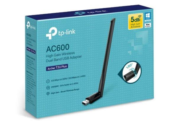 【開箱】TP-Link Archer T2U Plus:突破100M的便宜無線網卡