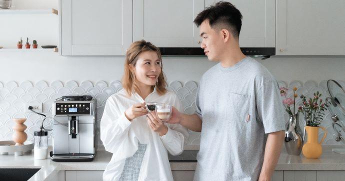 飛利浦Saeco全自動義式咖啡機SM7581 | 家裡的頂級咖啡師,每個細節都帶著幸福感